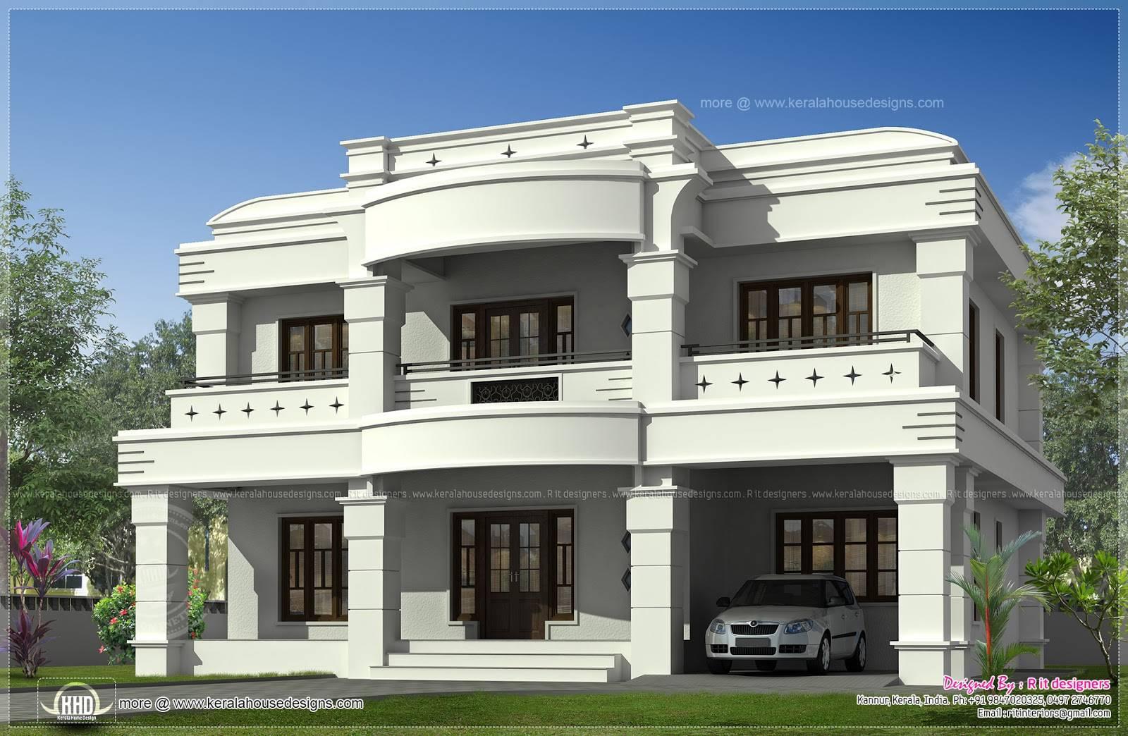 Double Floor House Plans In Kerala  Bedroom  Story House Floor - Exterior house design one floor