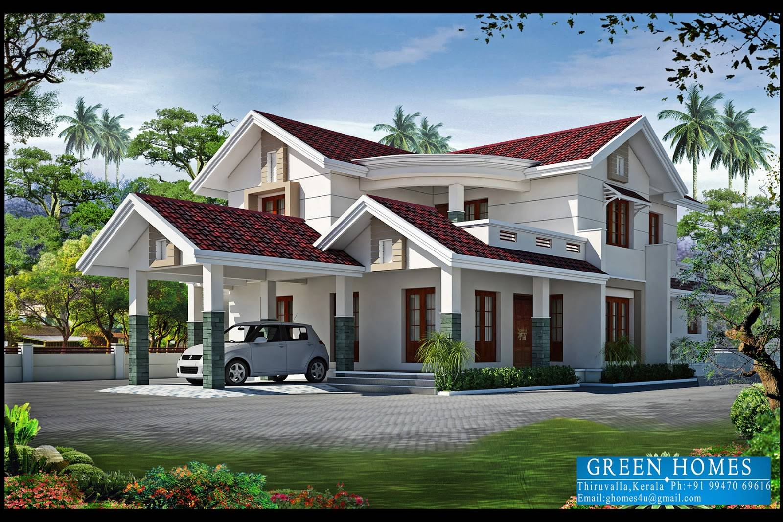 green homes bhk kerala home design feet kaf mobile homes new home designs pictures india - New Home Designs