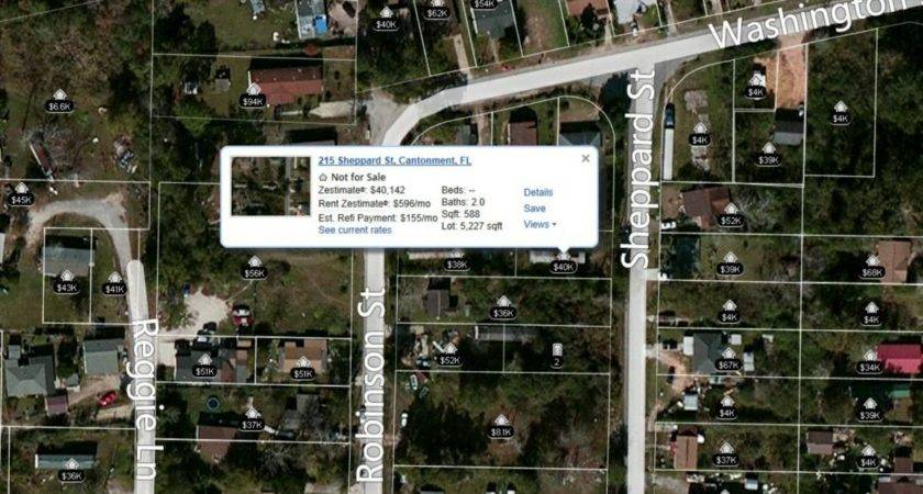 Acre Lot Mobile Home Near Pensacola Pre Foreclosure Ebay