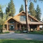 Alpine Dream Log Homes Modern Cabin Trailer Home Cabins