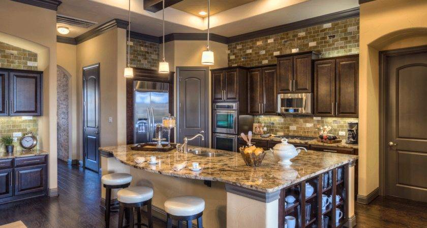 Amazing Model Home Kitchens