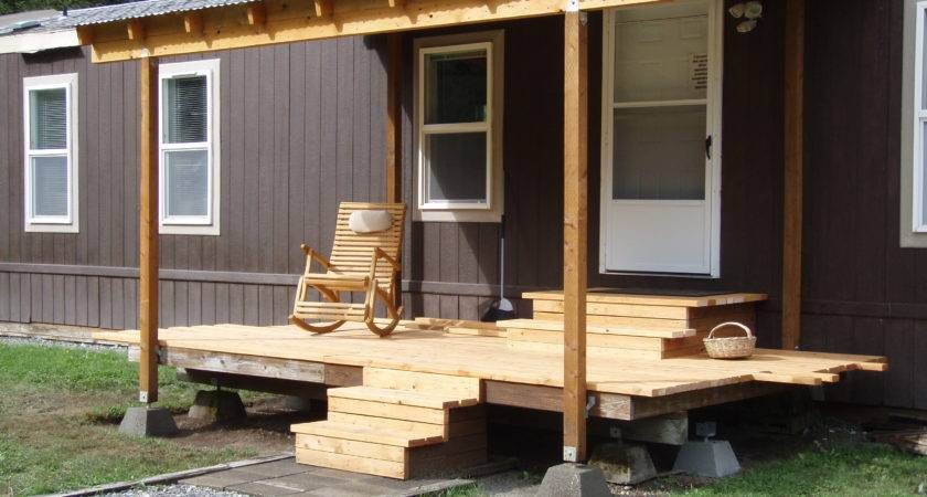 Appealing Decks Porches Mobile Homes Design