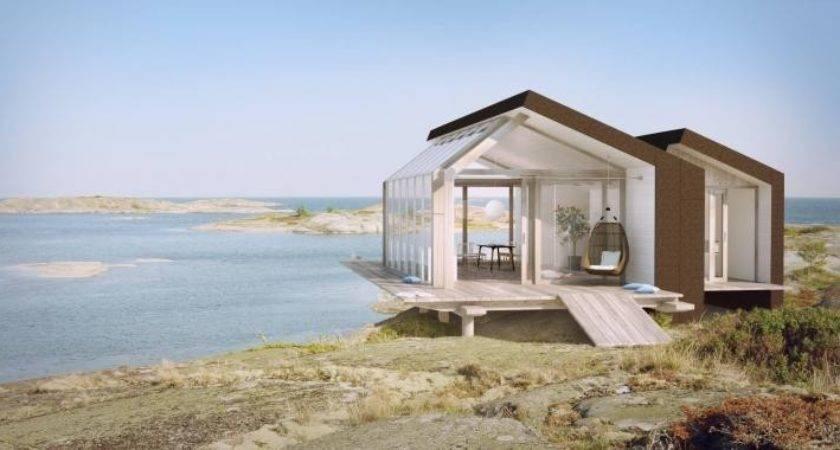 Architect Visit Beach Cabins Sommarn Jen Gardenista