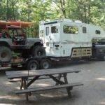 Back Homemade Jeep Camper