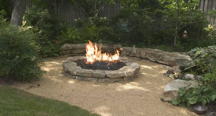 Backyard Landscaping Ideas Attractive Fire Pit Designs Homesthetics