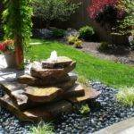 Backyard Water Fountains Ideas Fountain Design