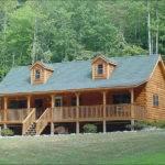 Banner Elk Log Home Exterior