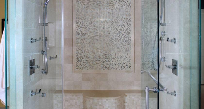Bathroom Design Contemporary Master Shower Rain