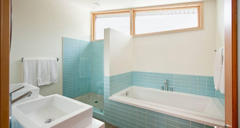 Bathroom Gorgeous Shower Ideas Blue Ceramic Bathtub White