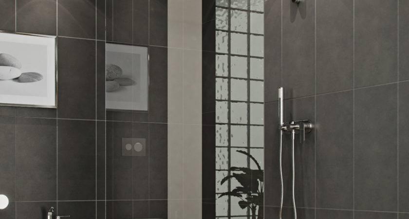Bathroom Modern Style Glass Shower