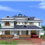 Beautiful Bedroom Kerala Home Exterior Indian House Plans
