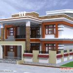 Beautiful Double Story House Plan Kerala Home