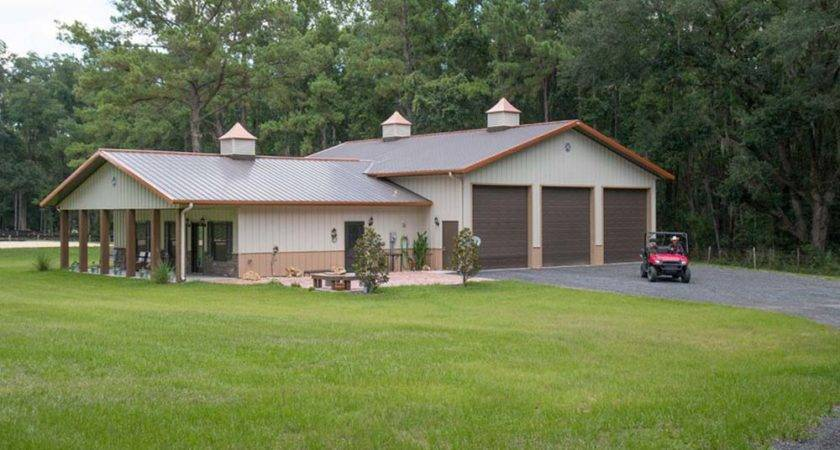 Beautiful Metal Building Home Small Families