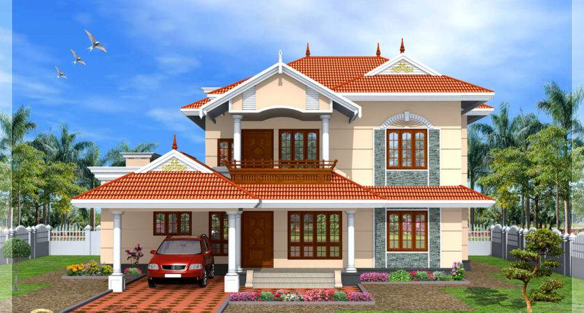 Beautiful New Model House Design Kerala Home Designs Houses