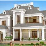Beautiful Victorian Model Luxury Home Indian House Plans