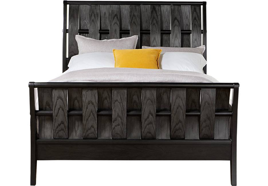 Bedford Heights Gray King Bed Beds Colors