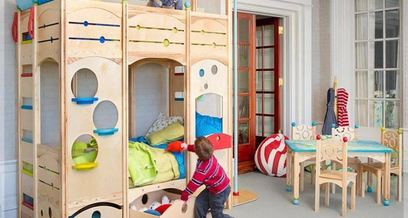 Bedroom Cool Kids Play Bunk Beds Decorating More