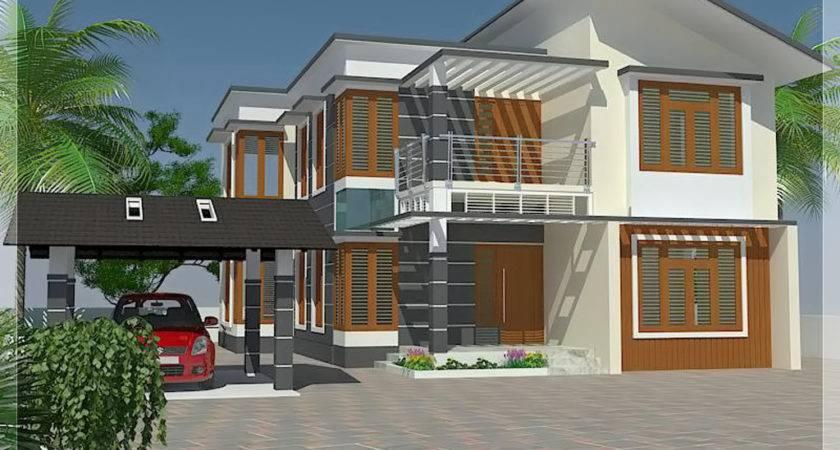 Bedroom House Elevation Floor Plan Kerala Home Design