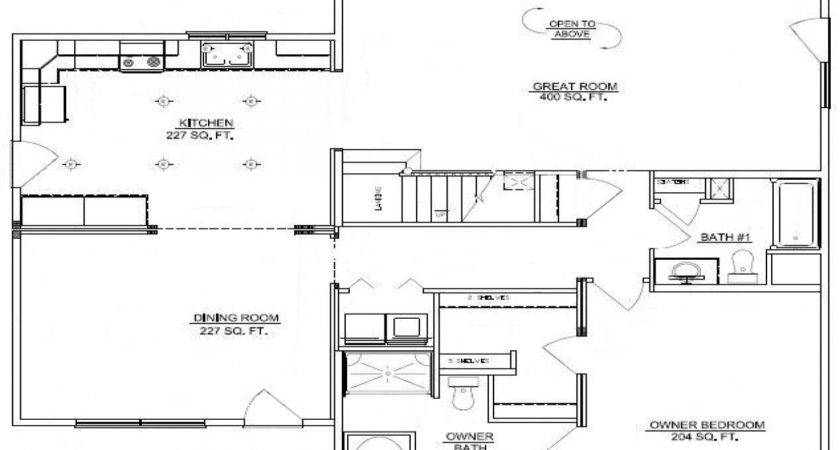 Bedroom Log Cabin Floor Plans Double Wide
