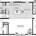 Bedroom Mobile Home Floor Plan Homes Sale
