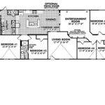 Bedroom Mobile Home Floor Plans Classic Collection