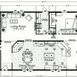 Bedroom Mobile Home Plans Double Wide Floor
