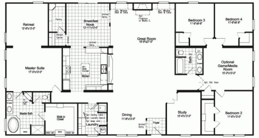 Bedroom Modular Homes Floor Plans Lovely Best