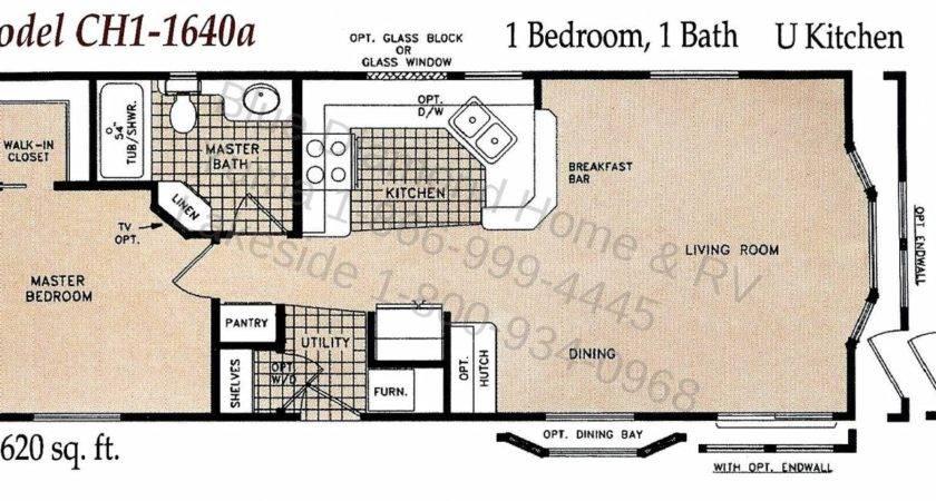 Bedroom Single Wide Mobile Home Floor Plans