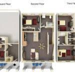 Bedroom Townhouse Floor Plans Nice