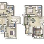 Bedroom Townhouse Floor Plans Quotes