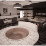 Bedroom Tub Visualized Semsa