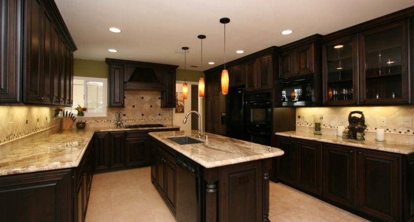 Best Kitchen Backsplash Ideas Dark Cabinets