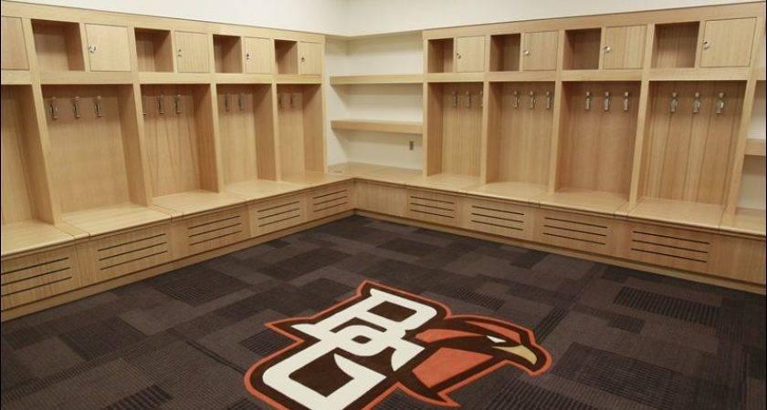 Bgsu Stroh Center Home Locker Room Floor Pro