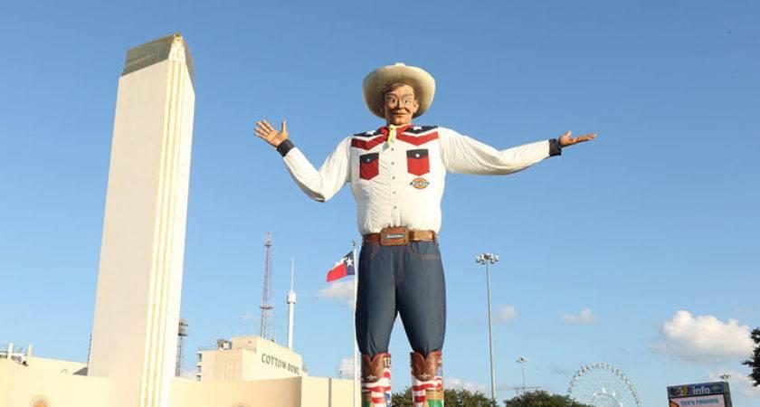 Big Tex Tallest Cowboy Texas