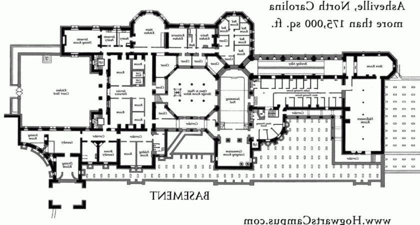 Biltmore Estate Floor Plan