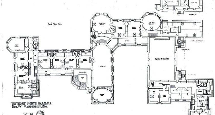 Biltmore House Floor Floorplan