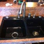 Black Cast Iron Sink Designs Ideas Intended