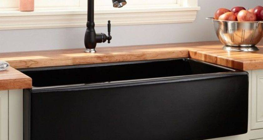 Black Cast Iron Sink Regard Desire Interior