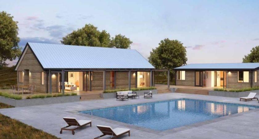 Blu Homes Green Prefab Farmhouse Mini House