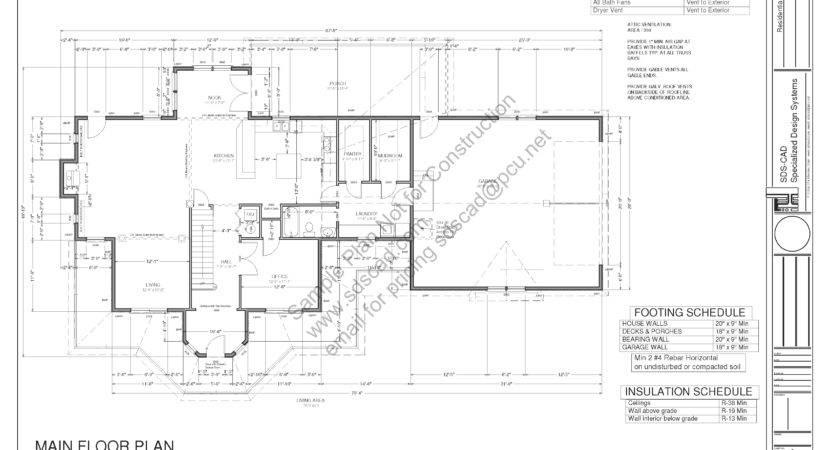Blueprints Custom Home Plans House