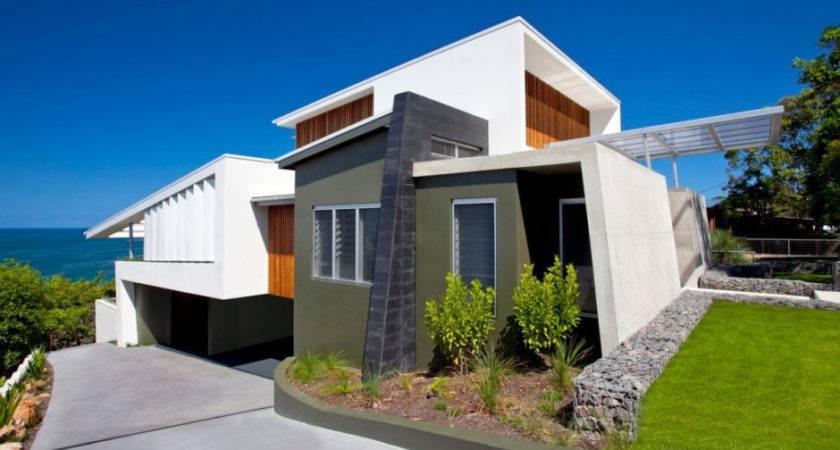 Bold Exterior Beach House Minimalist Interiors