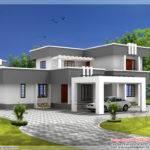 Boxtype Bhk Home Designed Vastu Perimeter Kerala Design