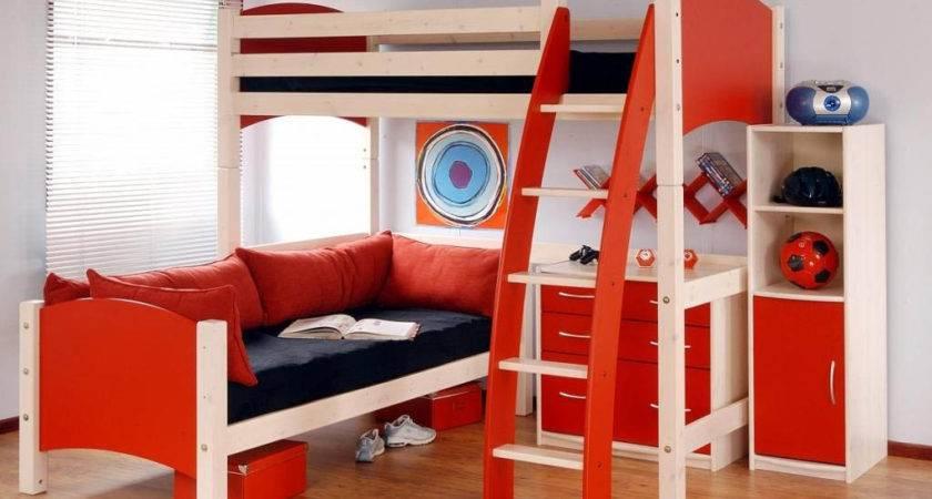 Boys Bedroom Decorating Ideas Bunk Beds Room