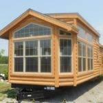 Breckenridge Log Cabin Model Park Trailers Pinterest