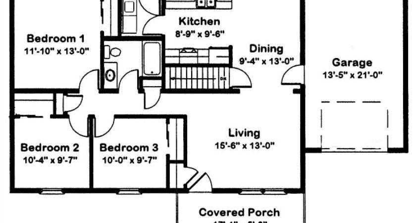 Brentwood Modular Home Floor Plan