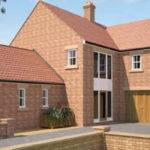 Brick Built Self Build Home Using Thin Joint Block Work Cheshire