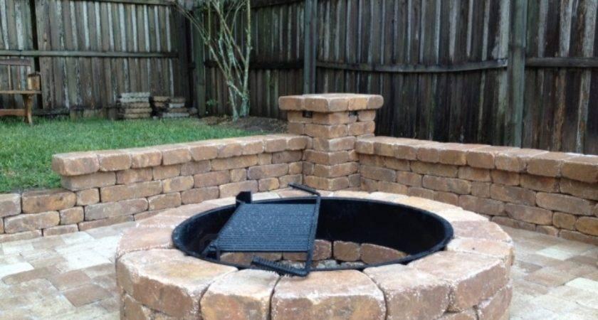 Brick Fire Pit Kit Ideas