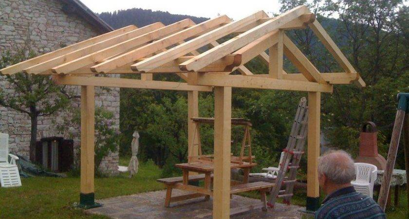 Build Gazebo Roof Howtospecialist Step
