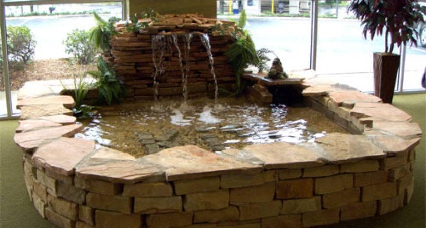 Build Indoor Fountain