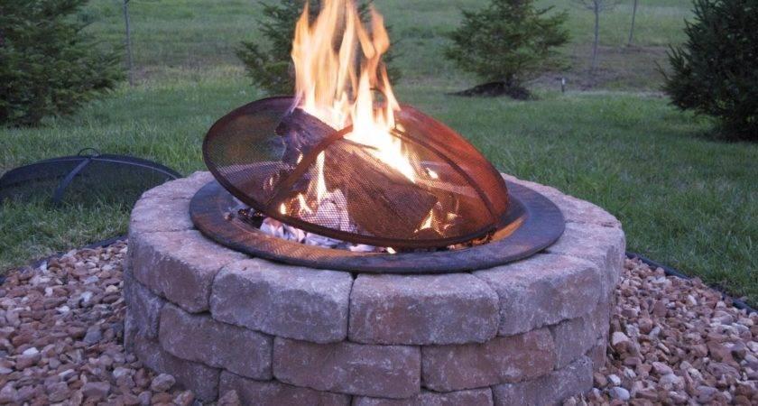 Build Outdoor Firepit Polkadot Chair